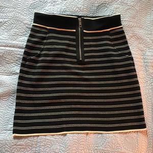Rag & Bone New York Black and White stripe mini